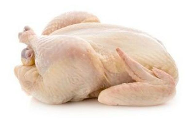 Chicken with skin